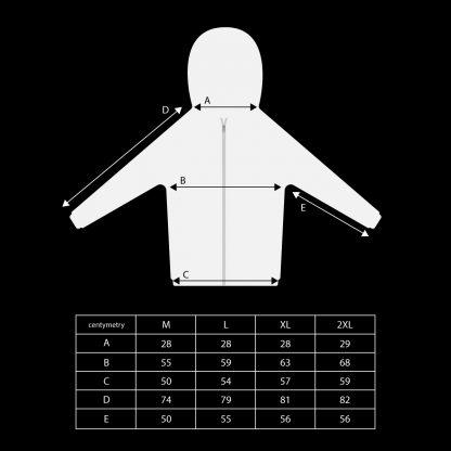 Bluza PERCIVAL SCHUTTENBACH wymiary