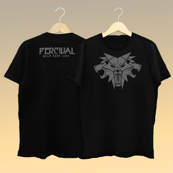 T-shirt Wolves Wild Hunt Live